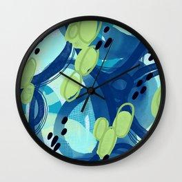Abstract Oceana Wall Clock