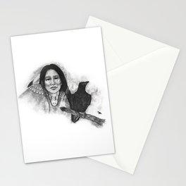 Crow Medicine Woman Stationery Cards