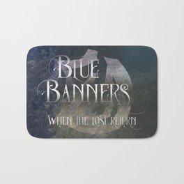 BLUE BANNERS when the lost return. Shadowhunter Children's Rhyme. Bath Mat