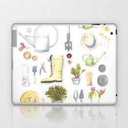 Gardening Tools Laptop & iPad Skin