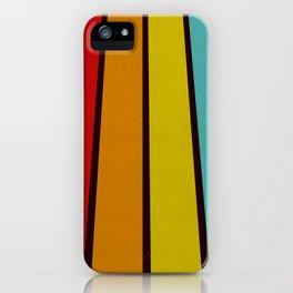 Retro Lines iPhone Case