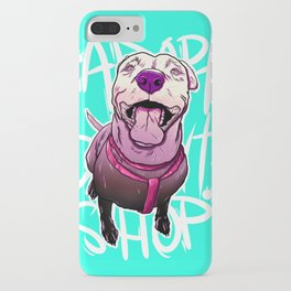 ADOPT DONT SHOP V2 iPhone Case
