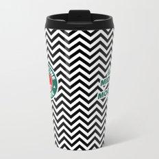 Damn Fine Coffee Metal Travel Mug