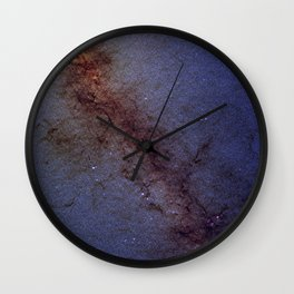 Center of our Milky Way Galaxy Wall Clock