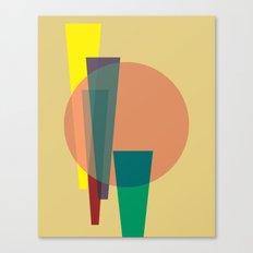 Cacho Shapes XXIV Canvas Print