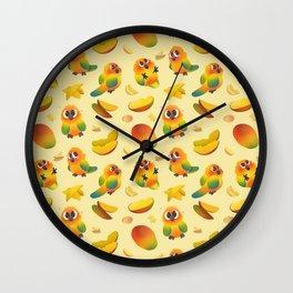 Lil' Mangoes Wall Clock