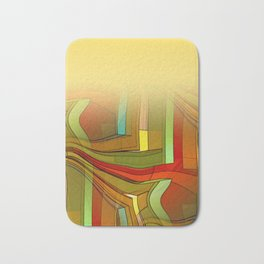 colormix -1- curtain and more Bath Mat