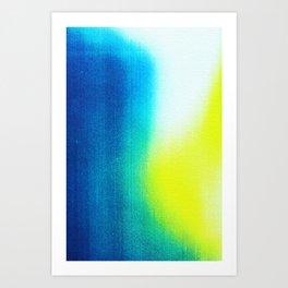 BLUR / paradise Art Print