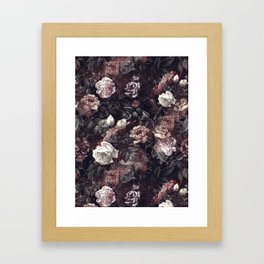 EXOTIC GARDEN - NIGHT III Framed Art Print