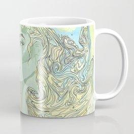Lady Green Coffee Mug