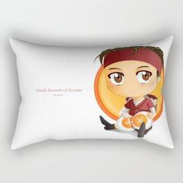Edoardo - Chibi Version Rectangular Pillow