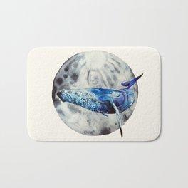 Lunar whale Bath Mat