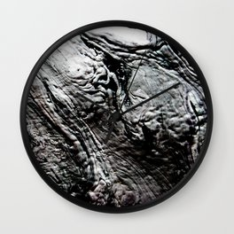 Black Lava Wall Clock