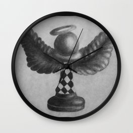 Angel Piece Wall Clock