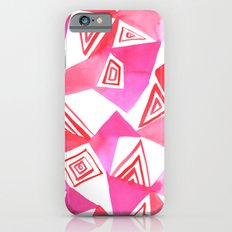 Geo Triangle Pink Slim Case iPhone 6s