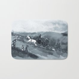 The Old Stagecoach Bath Mat