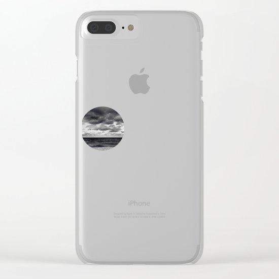 m-a-r-e Clear iPhone Case