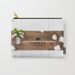 National Brewers Coffee Sign Carry-All Pouch