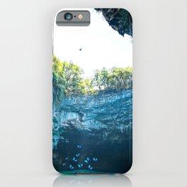Sea Cave in Greece iPhone Case