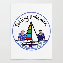 Beard Boy: Sailing Bohemia Poster