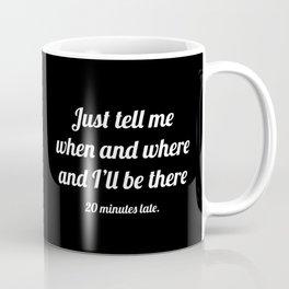 The Guilty Person III Coffee Mug