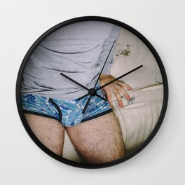 When will it be something? Wall Clock