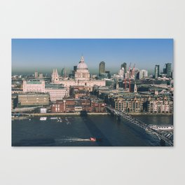 St Paul's London Canvas Print