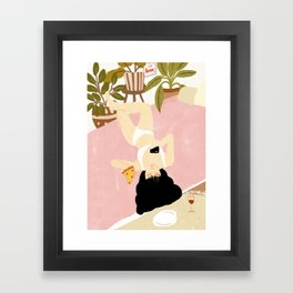 This is life Framed Art Print