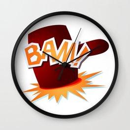 Bam! Wall Clock