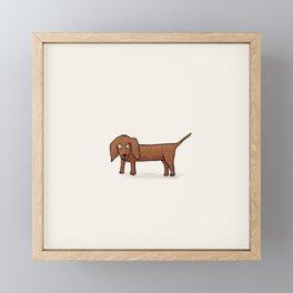 Wilbur Framed Mini Art Print