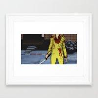 "kill bill Framed Art Prints featuring ""Kill Bill"" by Kenneth J. Franklin"