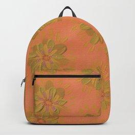 Terra Cotta Petal Rose Backpack