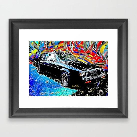 Buick Grand National Framed Art Print