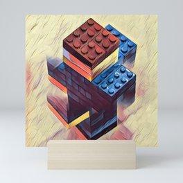 Legoman Mini Art Print