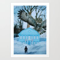 predator Art Prints featuring Predator by John Turck
