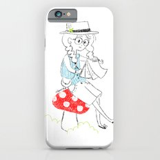 Girl drawing. iPhone 6s Slim Case
