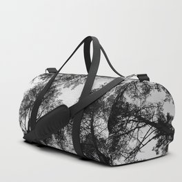 Forest View b/w Duffle Bag