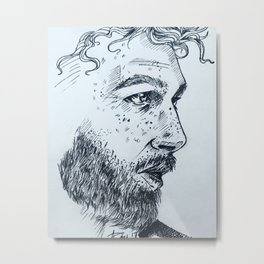 Male study #3 Metal Print