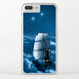 Second Star to the Right Clear iPhone Case