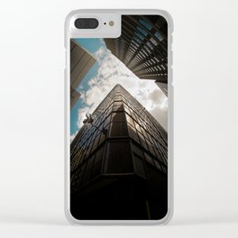Window wipers Clear iPhone Case