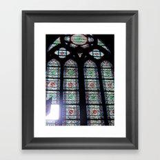 Let In The Light Framed Art Print