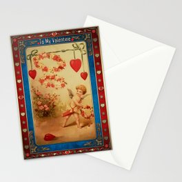 Valentine's Day Vintage Card 099 Stationery Cards