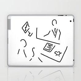 bank shop assistant bank clerk Laptop & iPad Skin