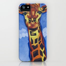 Giraffe Funk iPhone Case