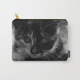 kitty watching Carry-All Pouch