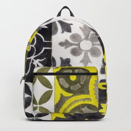 JD_tiled floor1–gouache Backpack