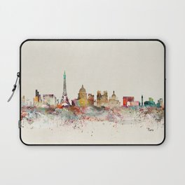 paris city skyline Laptop Sleeve