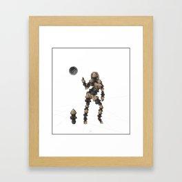 Sexy pump 2 Framed Art Print
