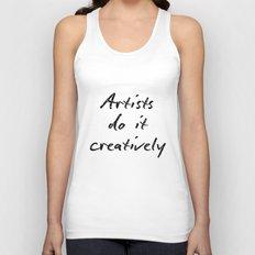 Artists Do It Creatively 2 Unisex Tank Top