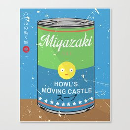 Howl's moving castle - Miyazaki - Special Soup Series  Canvas Print
